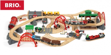 Brio Motorized Metro City Wooden Railway System Wooden Train Sets